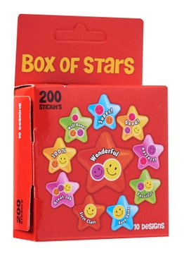 Teaching Resources Play N Learn Reward and Motivation Sticker in Red Box