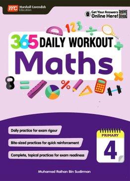 365 Daily Workout: Maths P4