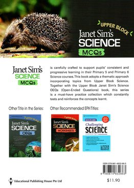 Janet Sim's Science MCQs (Upper block)