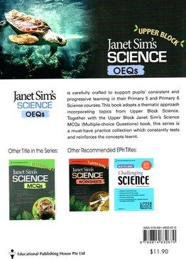 Janet Sim's Science OEQs (Upper Block)