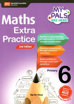 My Pals are Here! Maths Extra Practice P6 (2E)