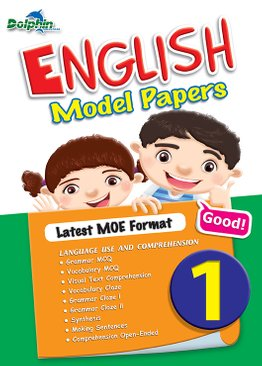 Primary 1 English Model Papers