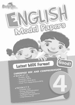 Primary 4 English Model Papers