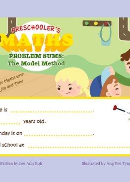 Preschoolers Maths Problem Sums Book 3
