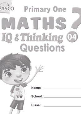 P1 Maths IQ & Thinking Questions Book 4