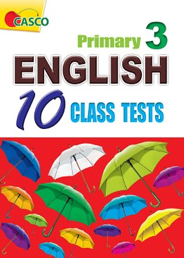 English 10 Class Tests Primary 3