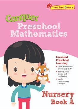 Conquer Preschool Mathematics Nursery Book A