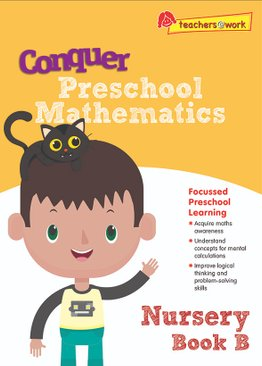 Conquer Preschool Mathematics Nursery Book B