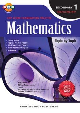 Secondary 1 Maths Topscore 2020