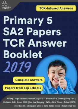 Primary 5 2019 SA2 Papers TCR Answer Booklet (PDF)