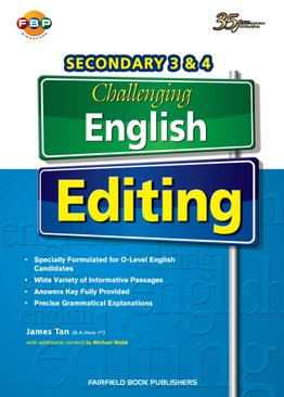 Secondary  3&4 Challenging English Editing