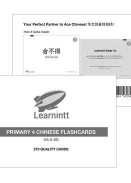 Chinese Vocabulary Flashcards P4