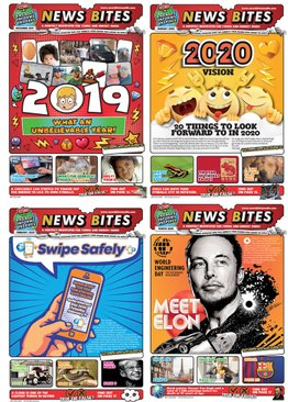 News Bites (Newspaper for Kids & Teens) 12 Issues Pack