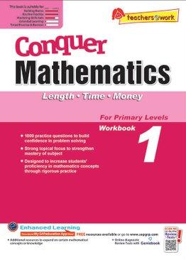 Conquer Mathematics Length - Time - Money Book 1