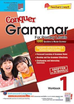 Conquer Grammar Workbook 1