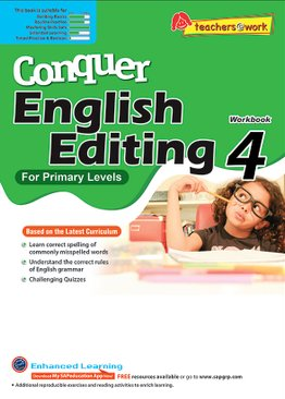Conquer Editing Workbook 4