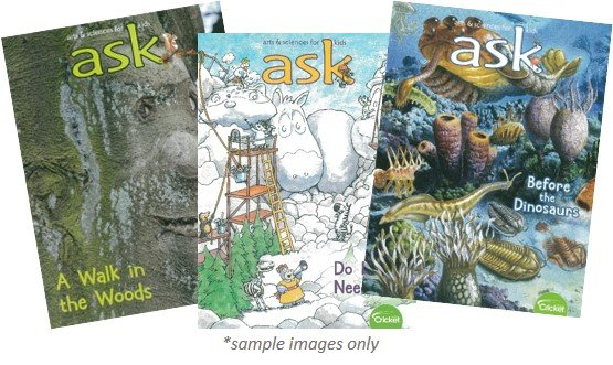 ASK MAGAZINE PACK - 3 ISSUES