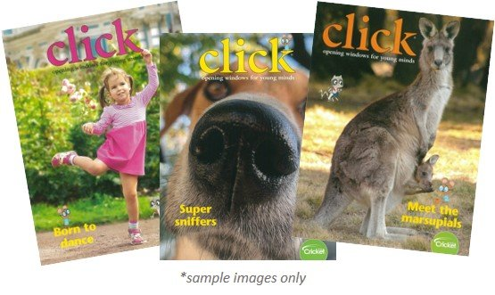 CLICK MAGAZINE PACK - 3 ISSUES