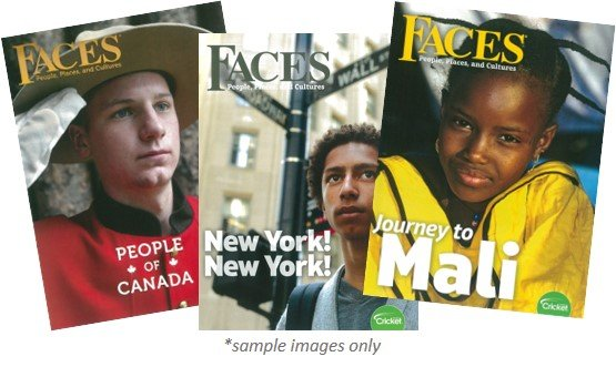 FACES MAGAZINE PACK - 3 ISSUES