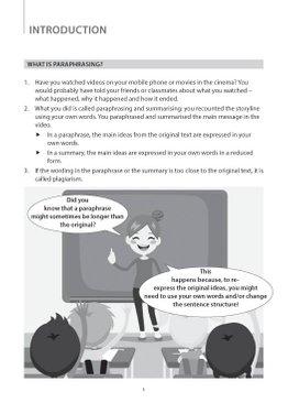 Key Guide Lower Secondary English: Paraphrasing Skills