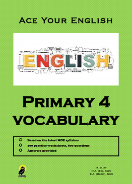 PRIMARY FOUR ACE YOUR ENGLISH VOCABULARY