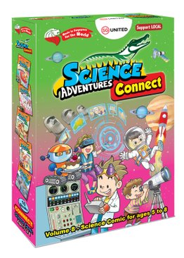 Science Adventures Box- Connect (STEAM) [Vol 8]