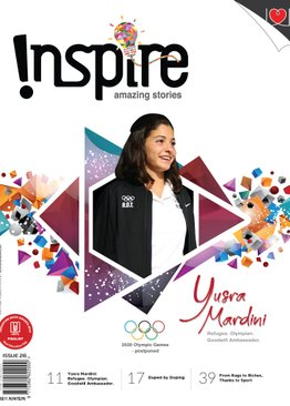 """INSPIRE"" 2021 Subscription - 5 issues"