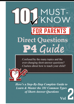 P4. 101 Must-Know Questions Vol 1 + 2 + 3 (3-Book Quick Starter Kit for CA1, SA1, CA2 & SA2)