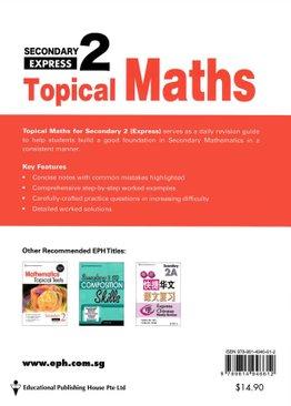 Topical Maths 2E (2021 Ed)
