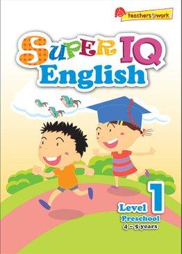 Super IQ English Preschool Level 1