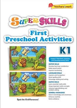 Super Skills First Preschool Activities K1