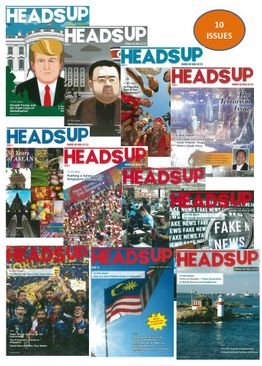 HEADS UP MAGAZINE PACK - 10 ISSUES