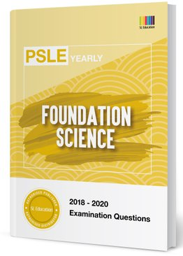 PSLE Foundation Science Yearly Qns + Ans 2018-2020