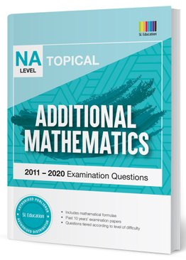 TYS NA Level Additional Mathematics Topical Qns + Ans 2011-2020