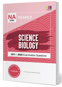 TYS NA Level Science Biology Yearly Qns + Ans 2011-2020