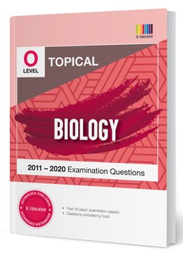 TYS O Level Biology Topical Qns + Ans 2011-2020