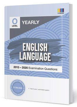 TYS O Level English Yearly Qns + Ans 2013-2020