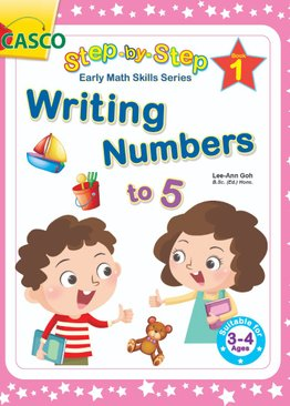 Step by Step Early Math Skills Book 1: Writing Numbers to 5 (for Ages 3-4)