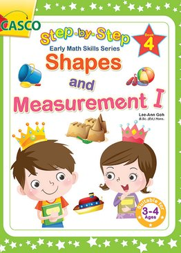 Step by Step Early Math Skills Book 4: Shapes & Measurement I (for Ages 3-4)