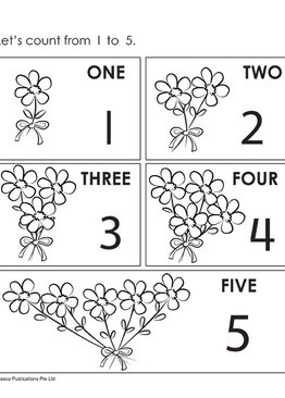 Step by Step Early Math Skills Book 2: Counting Numbers to 5 (for Ages 3-4)