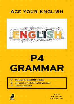 PRIMARY FOUR ACE YOUR ENGLISH GRAMMAR