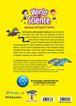 World of Science Comics: Adventures with Aquatic Creatures