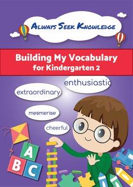 Always Seek Knowledge Building My Vocabulary Kindergarten 2