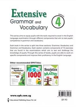 Extensive Grammar and Vocabulary P4