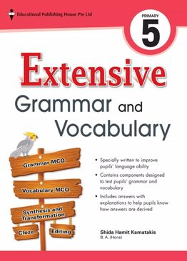 Extensive Grammar and Vocabulary P5