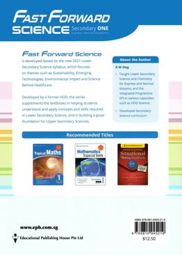Science Fast Forward QR Sec 1A (Exp/NA) (2ND EDT)