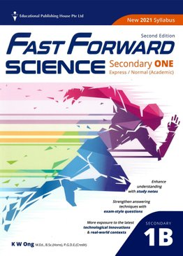 Science Fast Forward QR Sec 1B (Exp/NA) (2ND EDT)