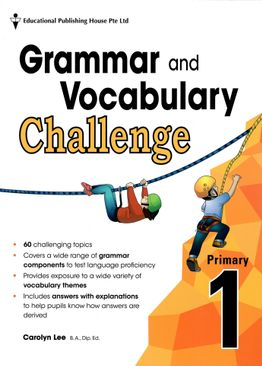 Grammar and Vocabulary Challenge P1