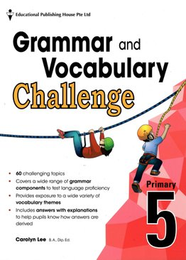 Grammar and Vocabulary Challenge P5