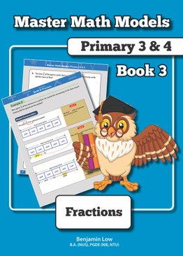MASTER MATH MODELS (P3&4) BOOK 3 - FRACTIONS